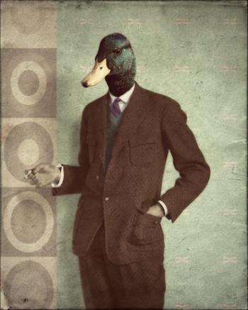 https://www.etsy.com/listing/207085700/bird-art-print-duck-mallard-hipster