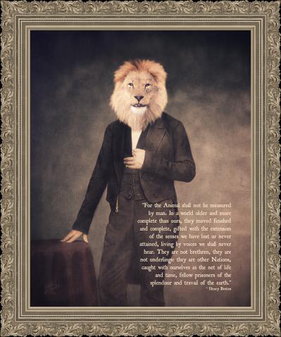 lion guy copy2b pixlr quote frame